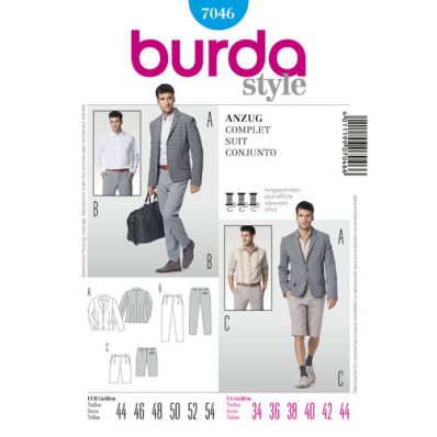 Burdasryle 7046_suit_shorts